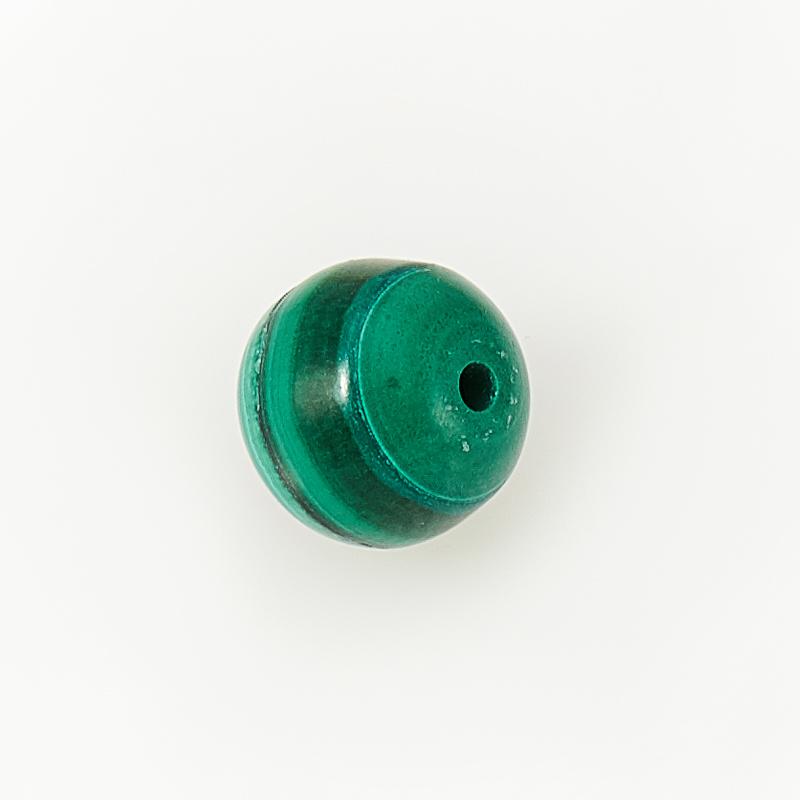 Бусина малахит Конго шарик 6-6,5 мм (1 шт)