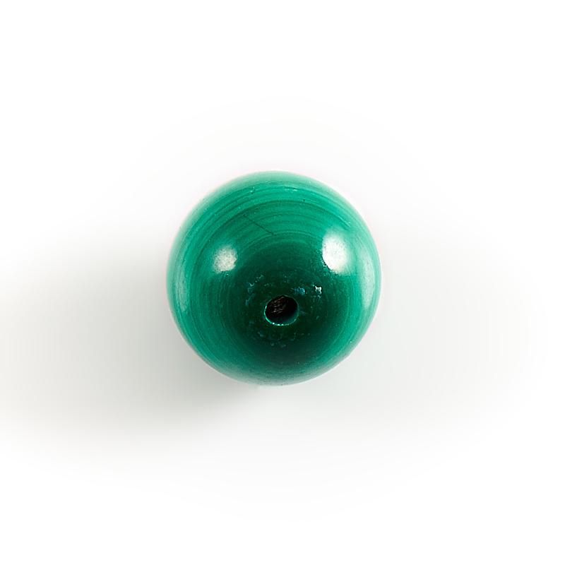 Бусина малахит Конго шарик 8,5 мм (1 шт)