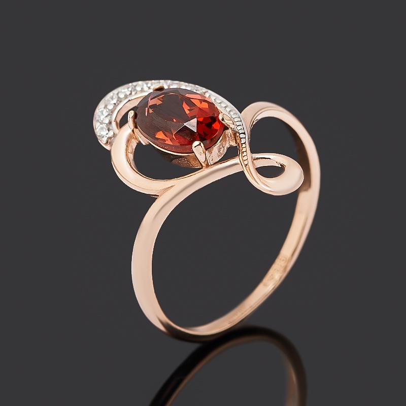 Кольцо гранат альмандин (серебро 925 пр. позолота) огранка размер 17,5 кольцо гранат альмандин огранка серебро 925 пр позолота размер 17