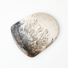 Кабошон агат пейзажный Казахстан (1 шт) 43*52 мм