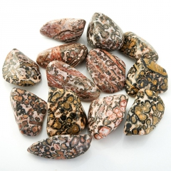 Галтовка яшма леопардовая Мексика (2,5-3 см) (1 шт)