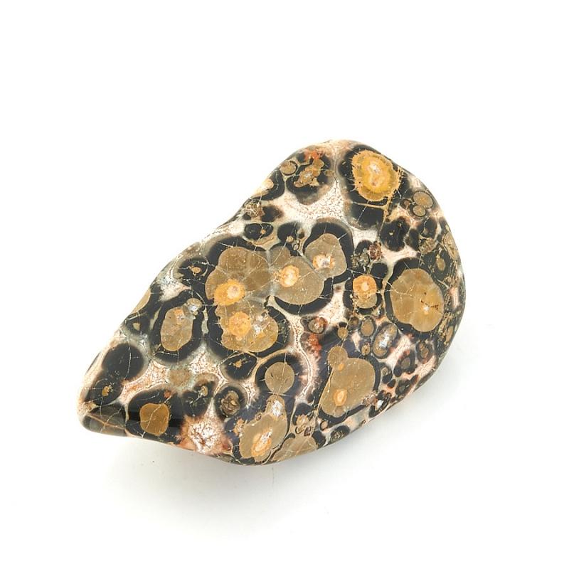 Галтовка яшма леопардовая Мексика (2,5-3 см) 1 шт