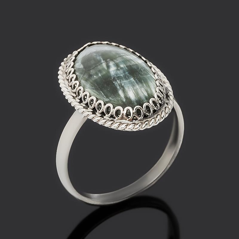 Кольцо клинохлор (серафинит) (нейзильбер) размер 17 эпл якутские бриллианты кольцо э10к071561 17 0 0 325 размер 17