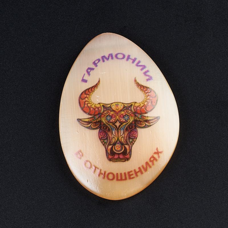 Магнит бык селенит 5,5 см магнит бык селенит 5 см