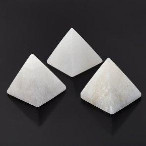 Пирамида селенит Марокко 4,5 см