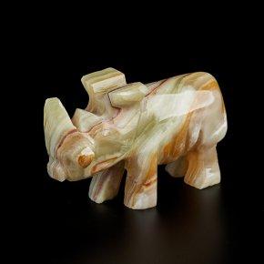 Носорог оникс мраморный Пакистан 10-10,5 см