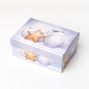Подарочная упаковка (картон) универсальная (коробка) (микс) 135х95х55 мм