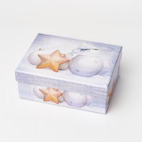 Подарочная упаковка (картон) универсальная (коробка) (микс) 155х115х60 мм