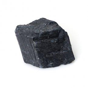 Кристалл турмалин черный (шерл) Бразилия M (7-12 см)
