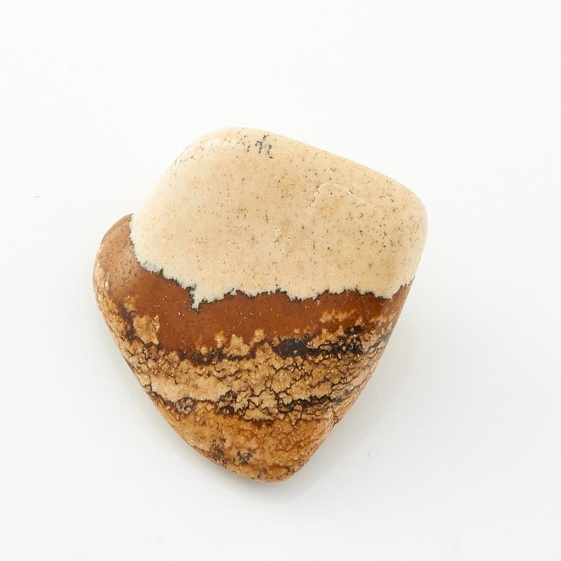 Галтовка яшма рисунчатая (песочная) Намибия (2-2,5 см) (1 шт)