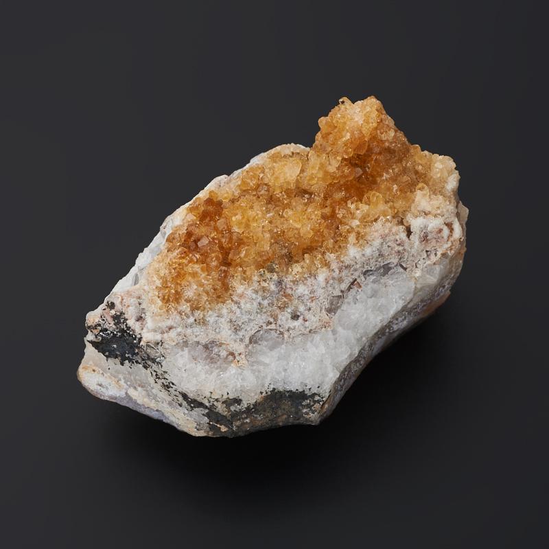 Друза цитрин S (4-7 см) друза аметист s 4 7 см