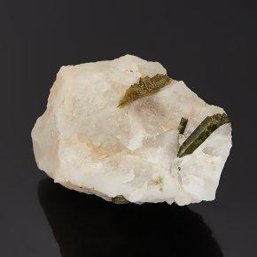 Образец турмалин зеленый (верделит) Бразилия (в породе) S (4-7 см)