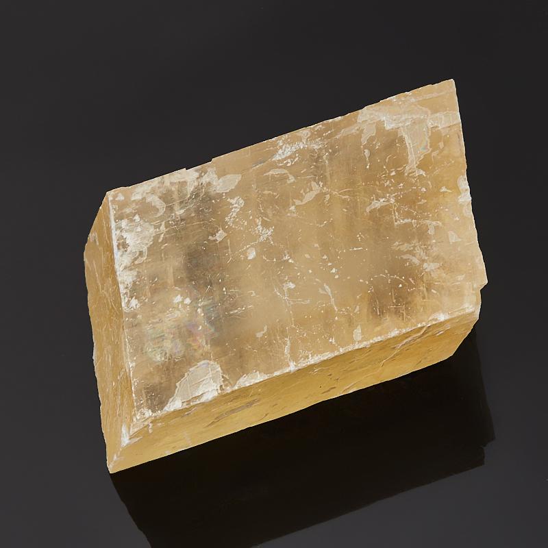 Образец оптический кальцит желтый M (7-12 см) образец кальцит оптический желтый xs 3 4 см 1 шт