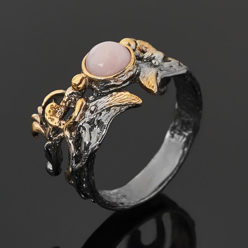 Кольцо опал розовый (серебро 925 пр. позолота, родир. сер.) размер 18 кольцо опал розовый серебро 925 пр позолота родир сер размер 18