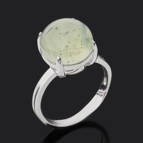 Кольцо пренит Мали (серебро 925 пр. родир. бел.) размер 18