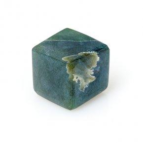 Куб нефрит зеленый Россия 2 см (1 шт)