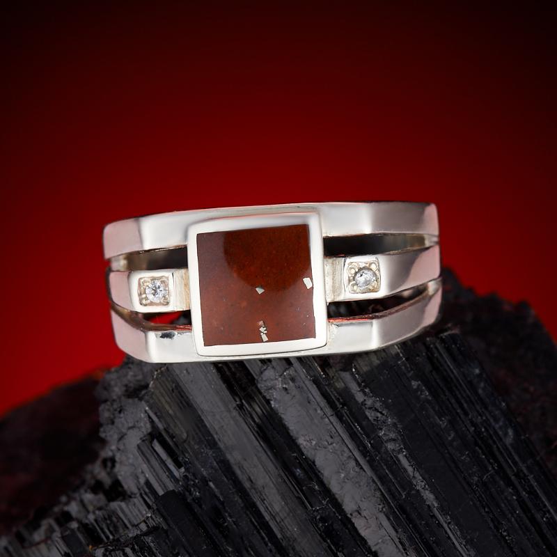 Кольцо яшма  (серебро 925 пр.) размер 20 кольцо авантюрин зеленый серебро 925 пр размер 18