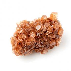 Друза арагонит оранжевый Марокко S (4-7 см)