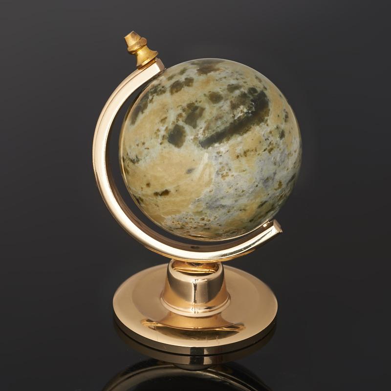 Глобус офиокальцит Россия 8 см