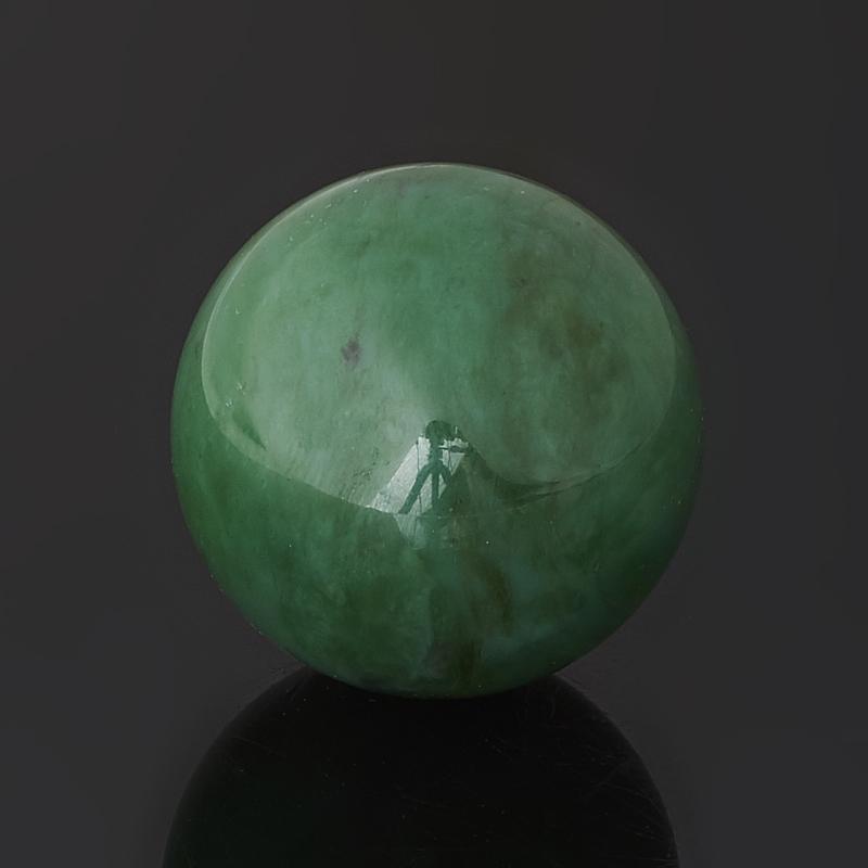 Шар нефрит зеленый Россия 3 см
