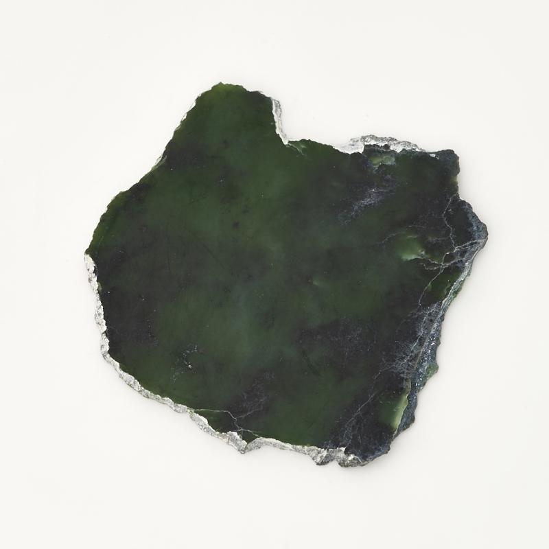 Срез нефрит зеленый Россия M (7-12 см)