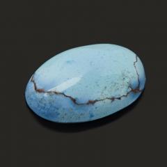 Кабошон бирюза Казахстан (1 шт) 9*14 мм
