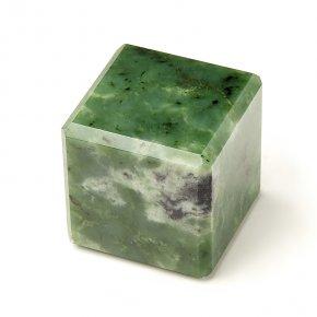 Куб нефрит зеленый Россия 5 см