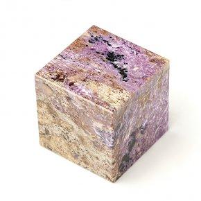 Куб чароит Россия 6 см
