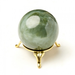Шар нефрит зеленый Россия (на подставке) 5,5 см