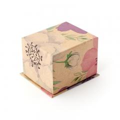 Подарочная упаковка (картон) под кольцо/серьги (коробка) (микс) 70х60х50 мм