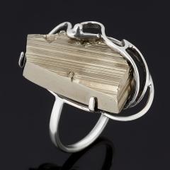 Кольцо пирит Россия (серебро 925 пр. оксидир.) размер 17,5