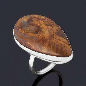 Кольцо петерсит ЮАР (серебро 925 пр.) размер 17,5