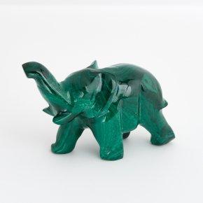 Слон малахит Конго 7 см