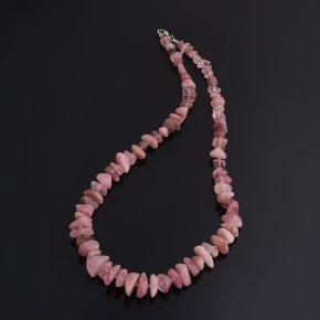 Бусы турмалин розовый (рубеллит) Бразилия (биж. сплав) 50 см