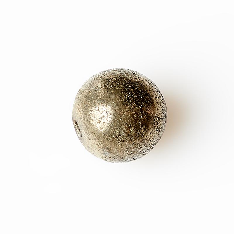 Бусина пирит Перу шарик 8 мм (1 шт)