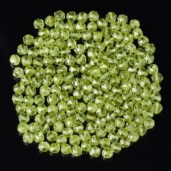 Бусина хризолит США шарик 4,5 мм огранка (1 шт)