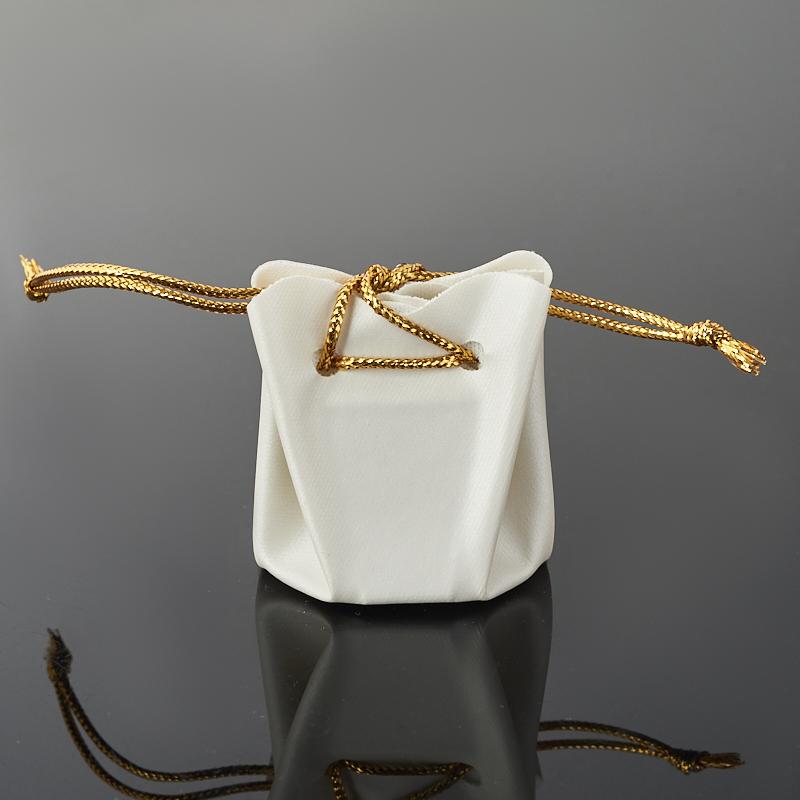 Подарочная упаковка  универсальная (мешочек объемный) (белый) 40х35х35 мм