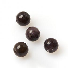 Бусина турмалин Бразилия шарик 6-6,5 мм (1 шт)