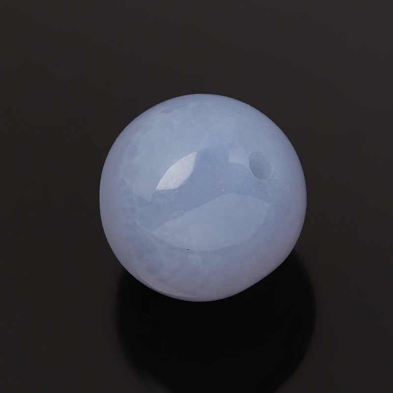Бусина агат сапфирин Намибия шарик 10-10,5 мм (1 шт)