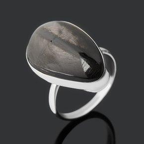 Кольцо гиперстен (дублет) Канада (нейзильбер) размер 18,5