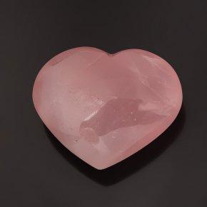 Сердечко розовый кварц Мадагаскар 7 см