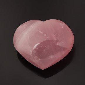 Сердечко розовый кварц Мадагаскар 7,5 см