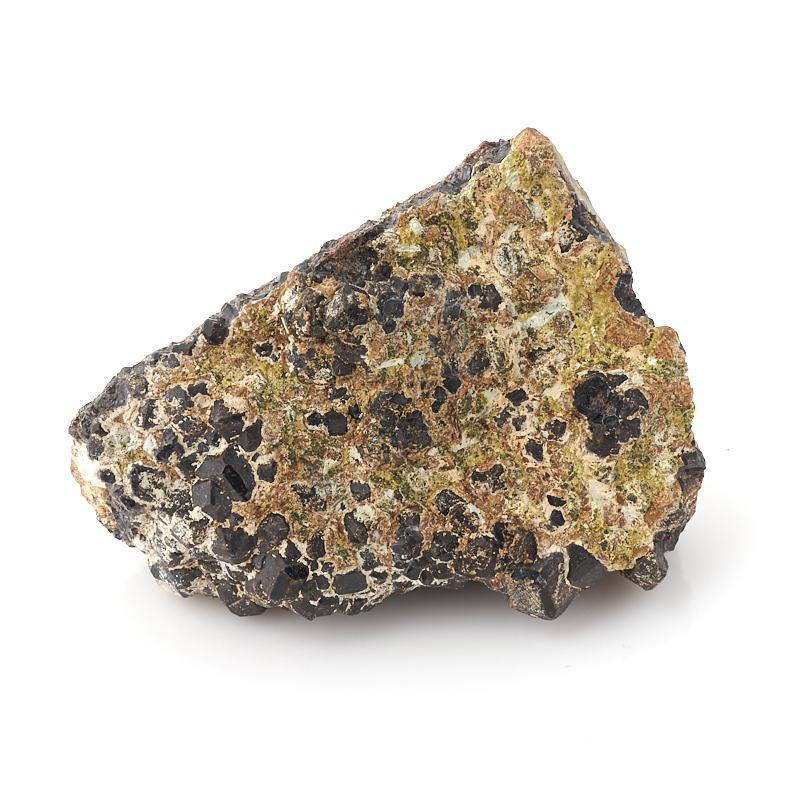 Образец микс гранат, эпидот M (7-12 см)