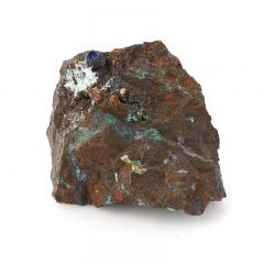 Образец азуромалахит Россия M (7-12 см)