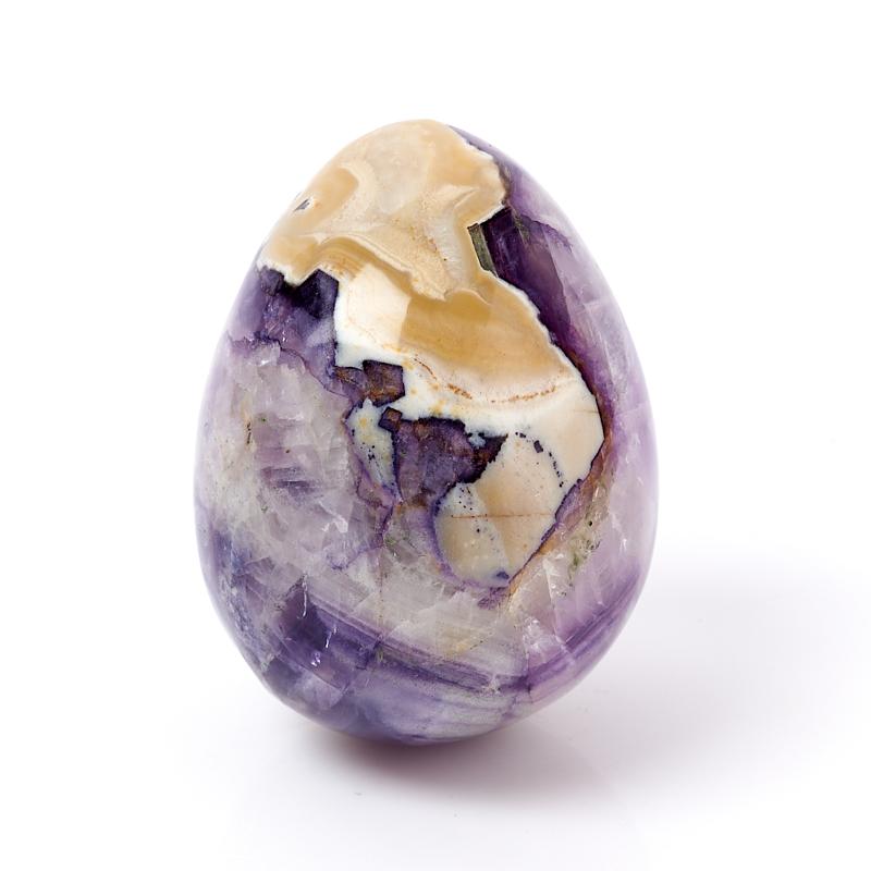 Яйцо флюорит фиолетовый Россия 6 см