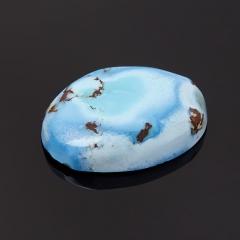 Кабошон бирюза Казахстан (1 шт) 13*18 мм