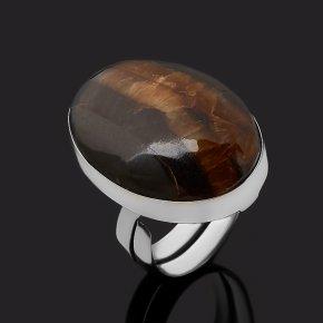 Кольцо симбирцит Россия (нейзильбер) (регулируемый) размер 17
