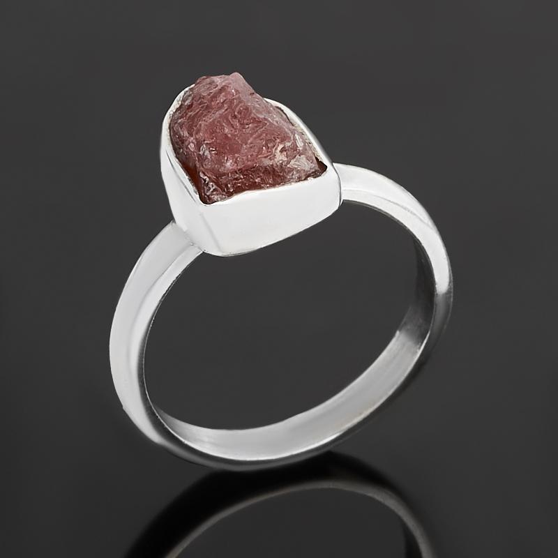 Кольцо турмалин розовый (рубеллит)  (серебро 925 пр.) размер 16