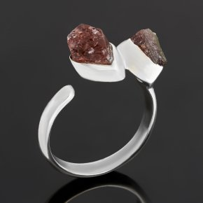 Кольцо турмалин розовый (рубеллит) Бразилия (серебро 925 пр.) (регулируемый) размер 18