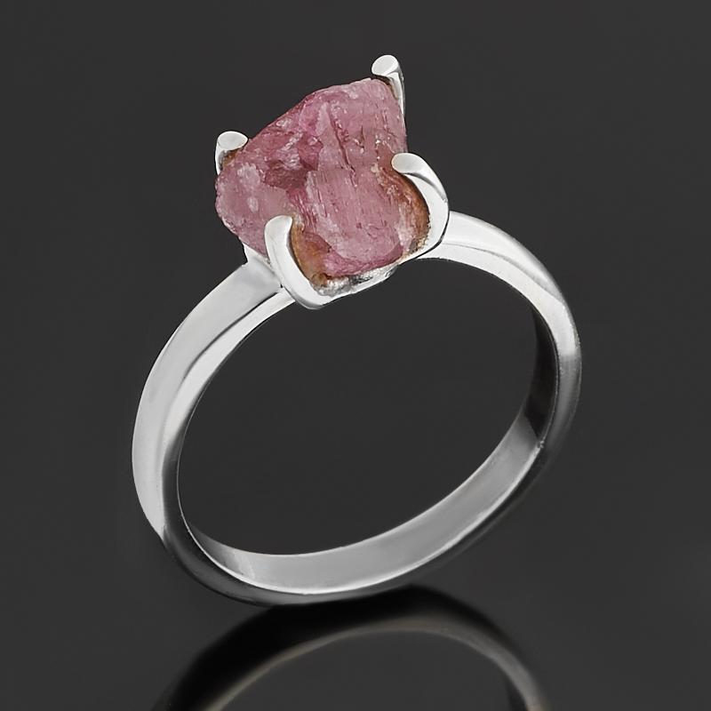 Кольцо турмалин розовый (рубеллит)  (серебро 925 пр.) размер 16,5